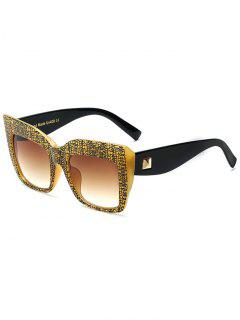 Rivet Bark Sunglasses - Jaune