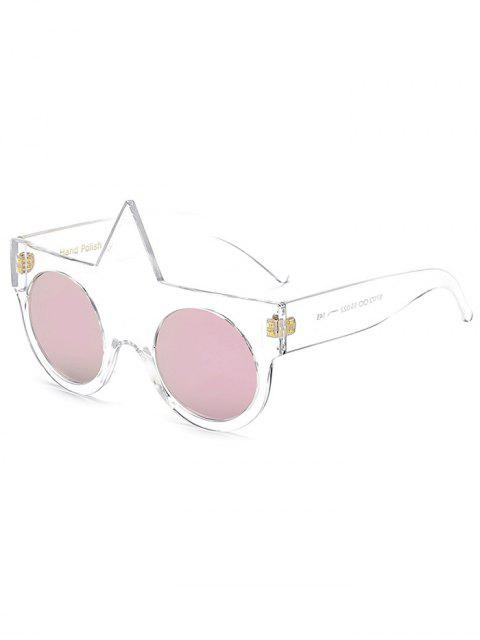 online Unicorn Round Mirrored Sunglasses -   Mobile
