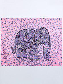 رمي فيل بيتش - الوردي والأرجواني L