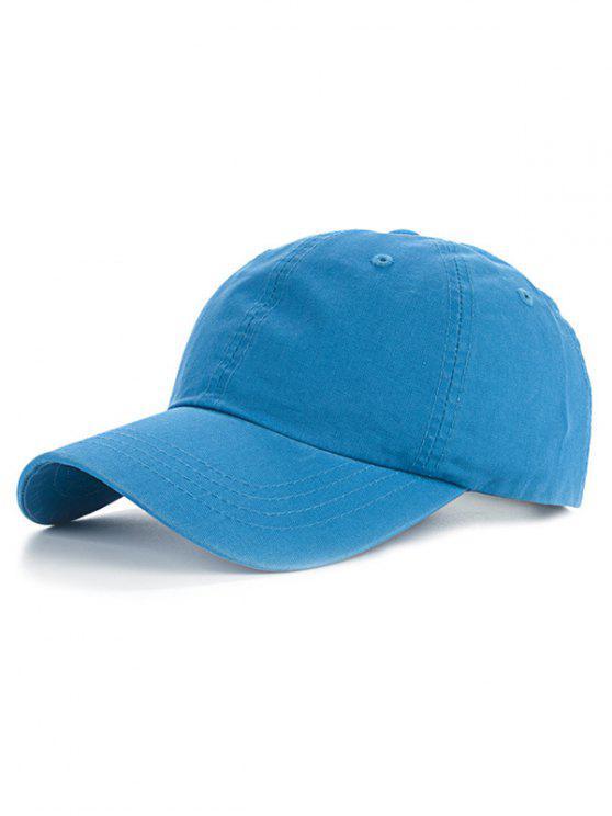 ladies Outdoor Sport Lovers Baseball Hat - LAKE BLUE