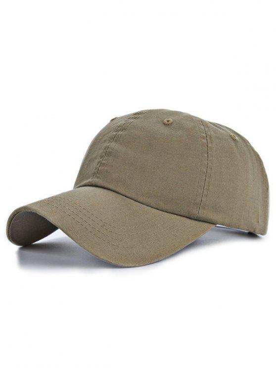 lady Outdoor Sport Lovers Baseball Hat - KHAKI
