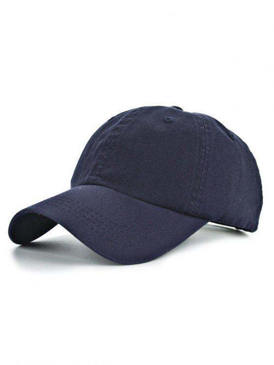 Casquette de Baseball classique casual pour sportifs - Bleu Cadette
