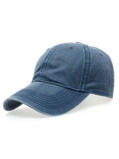 Water Wash Do Old Baseball Hat - Blue