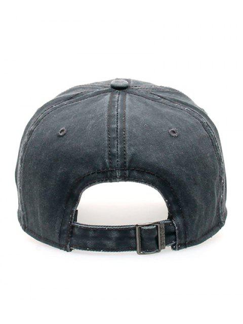 buy Water Wash Do Old Baseball Hat - DEEP GRAY  Mobile