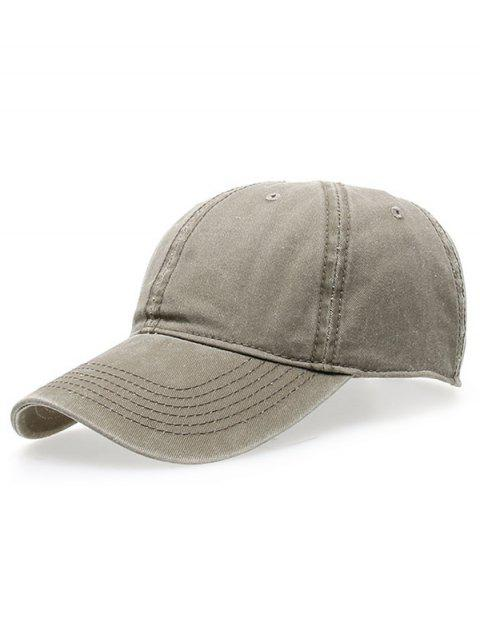 best Water Wash Do Old Baseball Hat - LIGHT KHAKI  Mobile