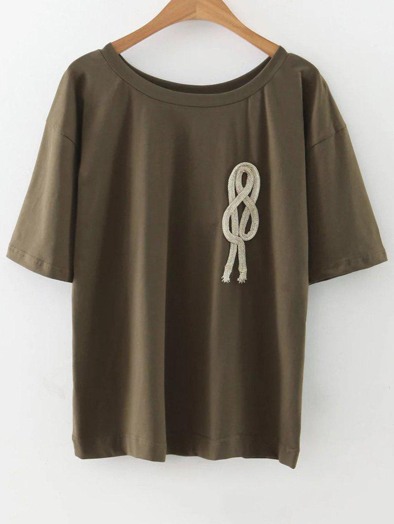 T-shirt de cordes en vrac