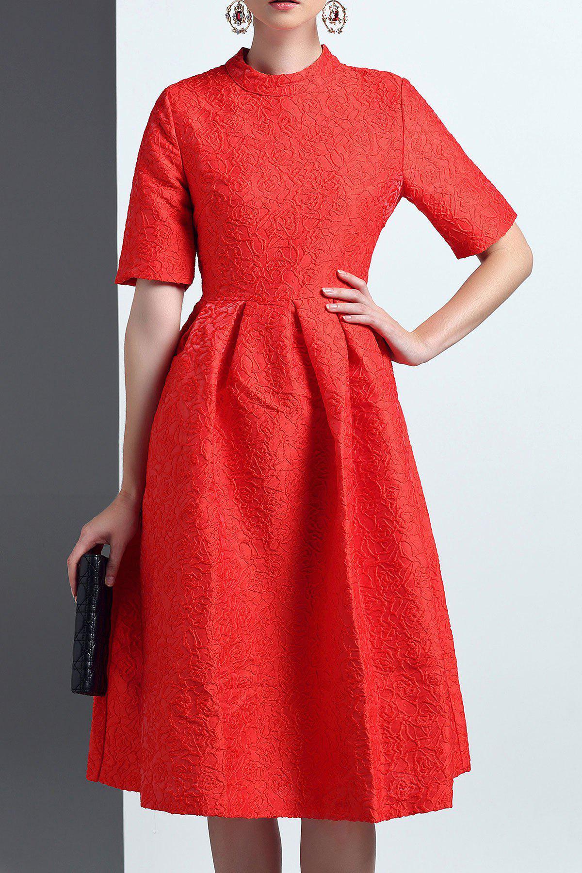 Midi Flare Dress