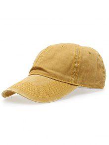 Water Wash Do Old Baseball Hat - Earthy