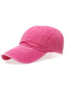 قبعة التنس الكلاسيكية لغسل - وردة حمراء