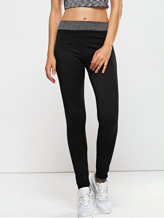 buy Seamless Leggings - BLACK L
