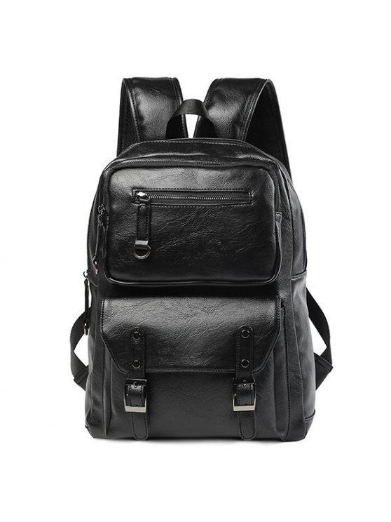حقيبة بسحاب - أسود