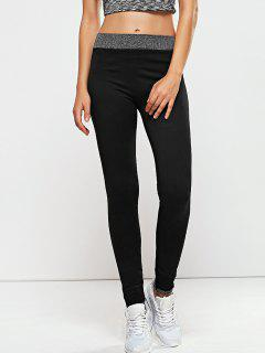 Seamless Leggings - Black L