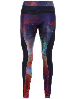 Starry Sky Print 3D Skinny Yoga Leggings