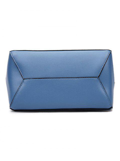 hot Print Strap PU Leather Crossbody Bag -   Mobile