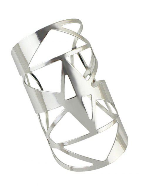 outfit Hollow Out Cuff Geometric Bracelet -   Mobile