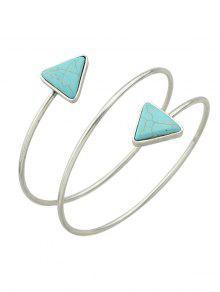 مثلث فو الفيروز الذراع سلسلة -