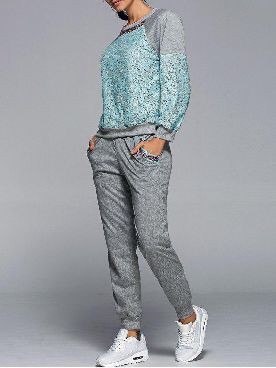 Sweatshirt Avec Pantalon Twinset - Vert M