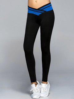 Skinny Active Leggings - Sapphire Blue S