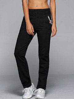Jogging Pants With Pockets - Black M
