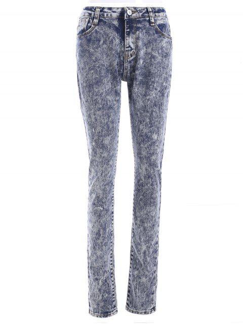shops Snow Wash Skinny Jeans - COLORMIX L Mobile