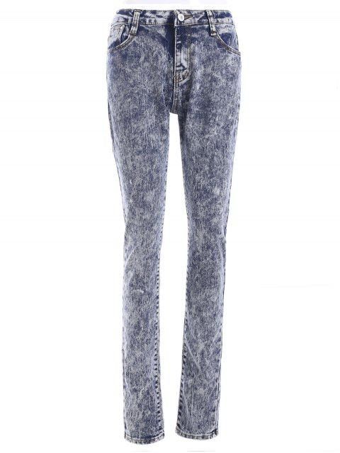 latest Snow Wash Skinny Jeans - COLORMIX M Mobile