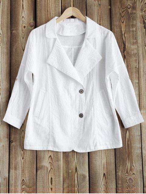 de la solapa de la chaqueta - Blanco M Mobile