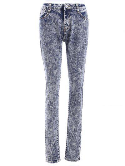 Snow Wash Skinny Jeans