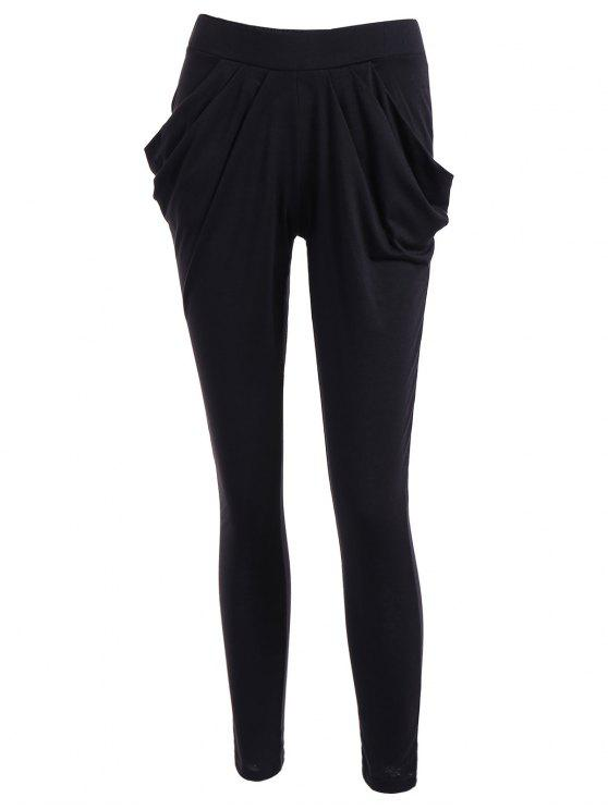 best Work Harem Pants - BLACK 2XL