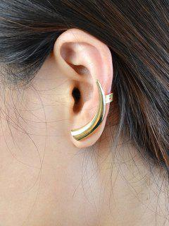 ONE PIECE Horn Alloy Ear Cuff - Golden