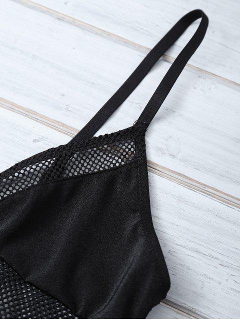 outfit Fishnet Bra - BLACK M Mobile