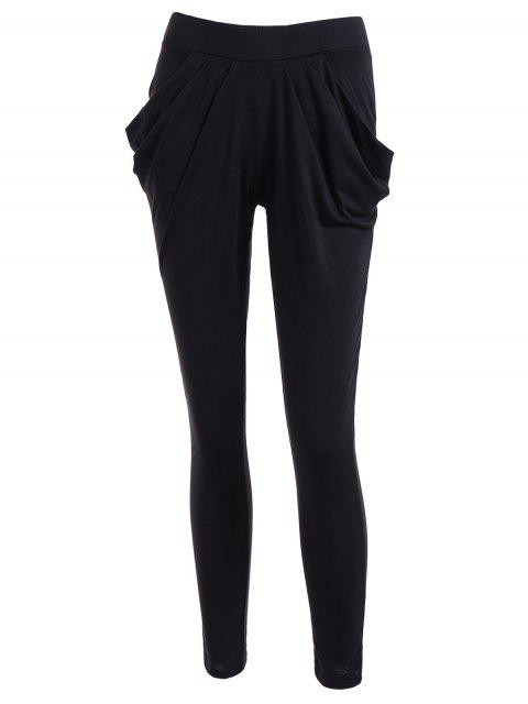 new Work Harem Pants - BLACK L Mobile
