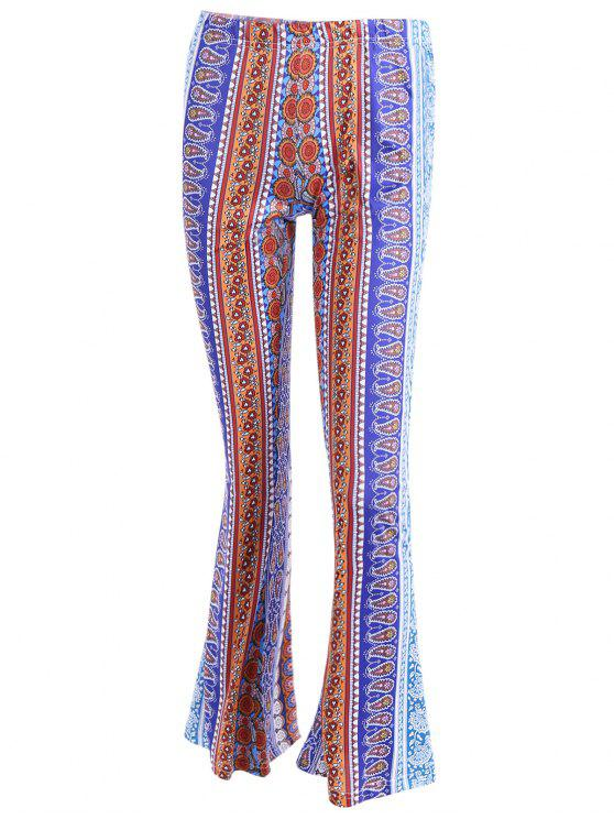 fancy Bell Bottoms Pants - COLORMIX XL