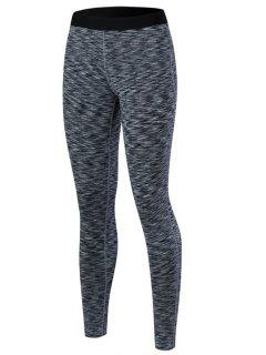Marled Leggings - Black L