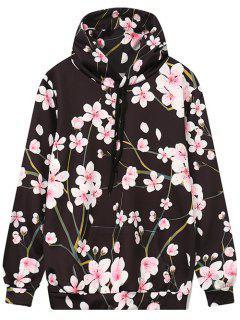 Floral Outerwear Hoodie - Floral M