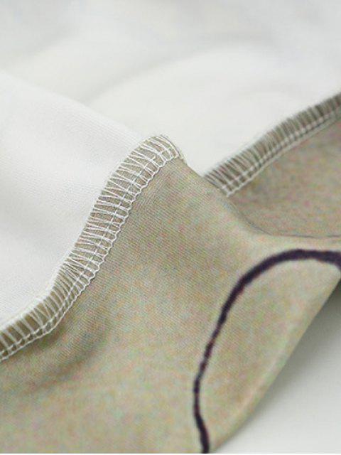 Hoodie imprimé de carte avec poche avant et cordon - Multi M Mobile
