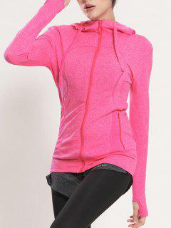 Manteau Rapide Dry Sporty Hooded - Rose S
