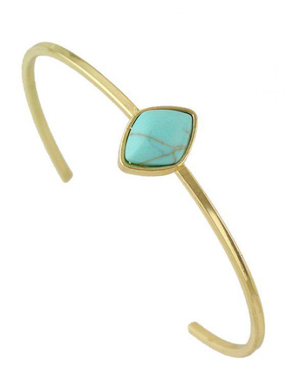 Pulsera de la joyería de imitación Rammel Boho geométrica - Azul