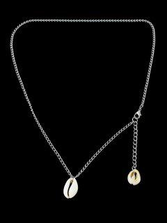Shell Shape Necklace - Silver