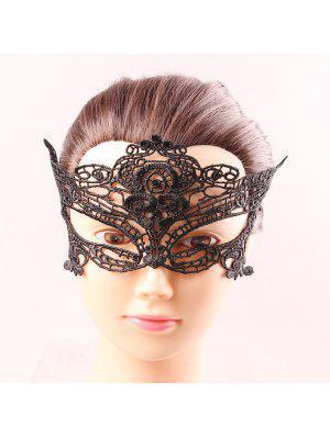 Obere Hälfte Gesicht Göttin Black Lace Karneval Masquerade aushöhlen Masken
