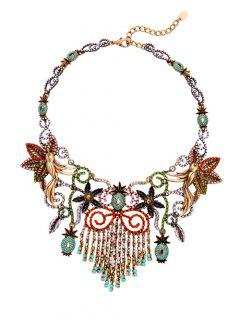 Tassels Floral Necklace