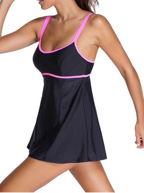 buy Bodysuit Cami Swimwear - BLACK 2XL Mobile