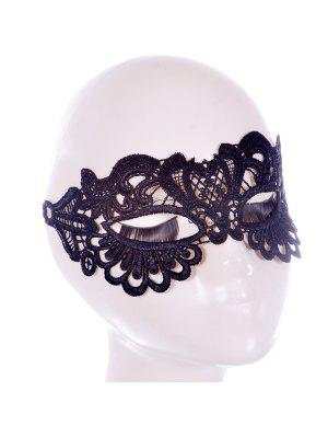 Faux Lace Hair Accessory Party Mask