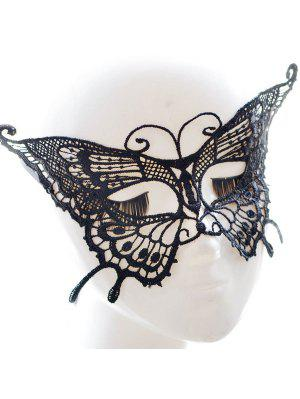 Faux Lace Butterfly Hallowmas Party Mask