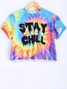 Colorful Crop Top - Xl