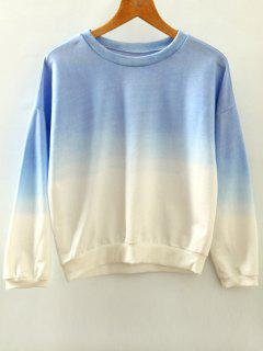 Ombre Sweat-shirt - Azur