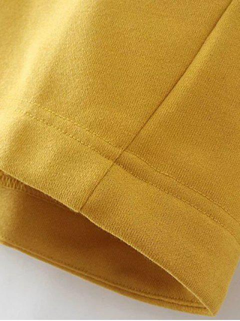 Vrac Raglan Sleeve Sweatshirt - Kaki 2XL Mobile