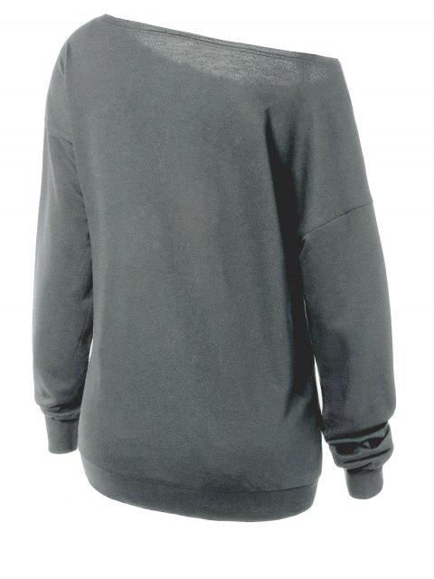 outfit Witches Halloween Sweatshirt - GRAY XL Mobile