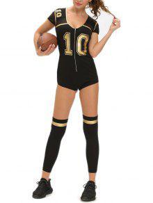 Anzahl Drucken Cosplay Halloween Kostum Fussball