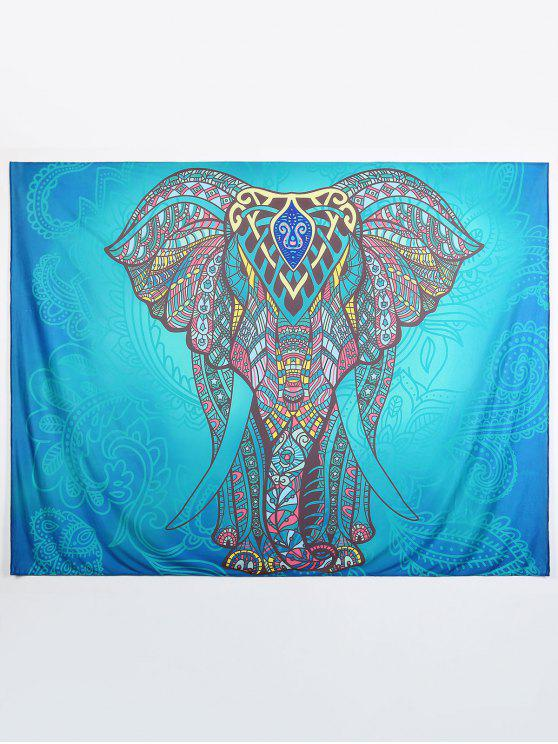 women Ethnic Elephant Beach Throw - MULTI L