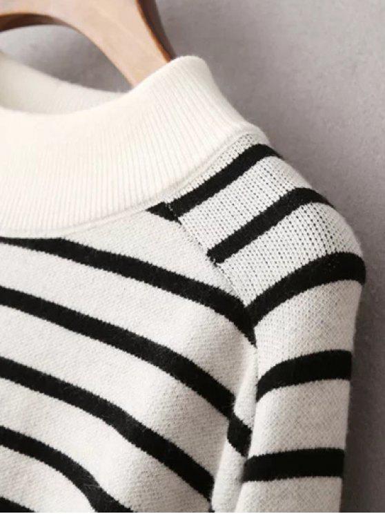 A RaglanNoir Sweatshirt Rayé Sweatshirt Rayé A Manches oeWrdCxB